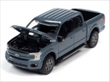 Auto World 1:64 Premium 2018 Ford F-150 (Abyss Gray)