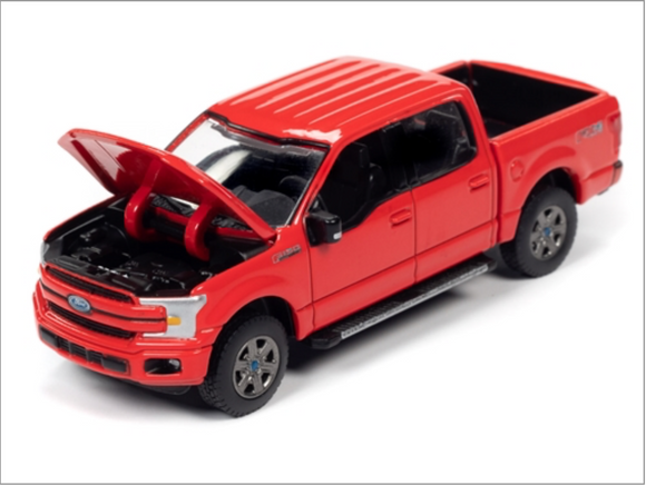 Auto World 1:64 Premium 2018 Ford F-150 (Race Red)