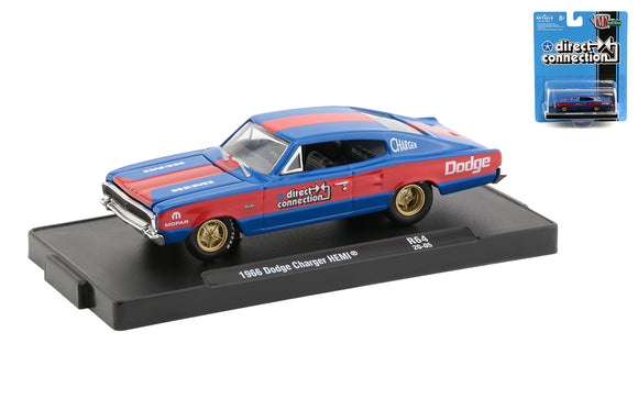 M2 Machines 1:64 Drivers R64 1966 Dodge Charger HEMI
