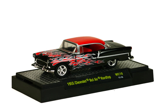 M2 Machines 1:64 Wild Card 1955 Chevrolet Bel Air Hardtop