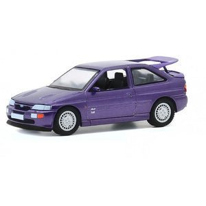 Greenlight 1:64 Hot Hatches Ser 1 - Ford 1994 Escort RS Cosworth Monte Carlo Special Edition - Jewel Violet