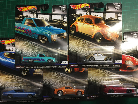 Hot Wheels  1/64 Car Culture Cruise Boulevard