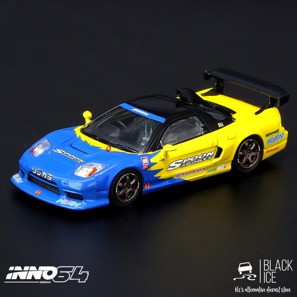Inno64 1:64 HONDA NSX-R GT #95 Tuned by SPOON SPORTS