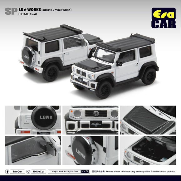 ERA #SP03 LB Works LB G Mini (White)