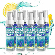 Load image into Gallery viewer, Spray Hand Sanitizer 2oz. |  Eight Pack - Clean Hands 24/7