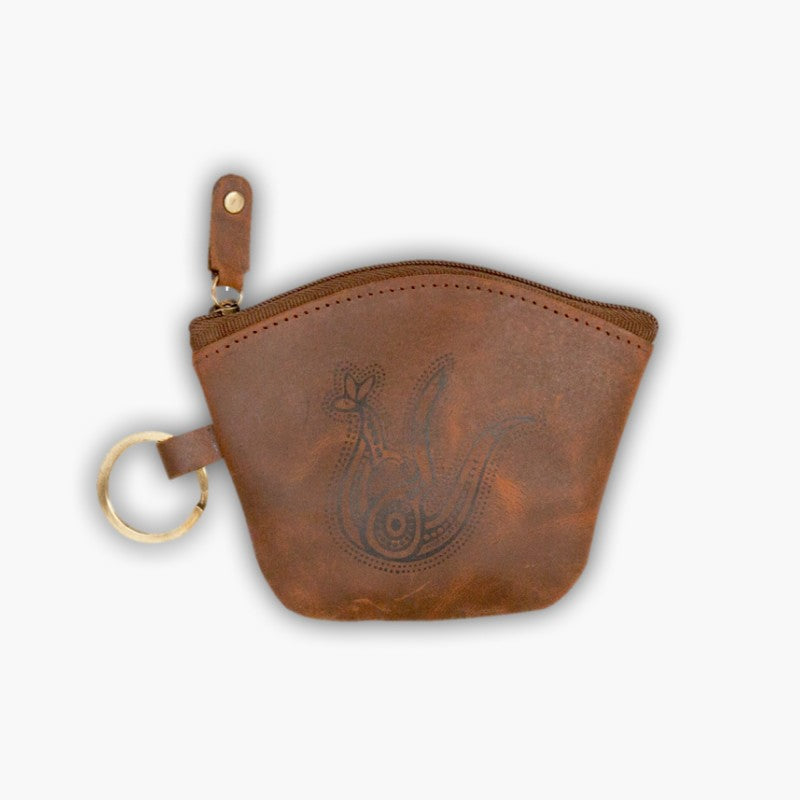COIN BAG - LEATHER PURSE MUR 12.5X10CM LP14HM.