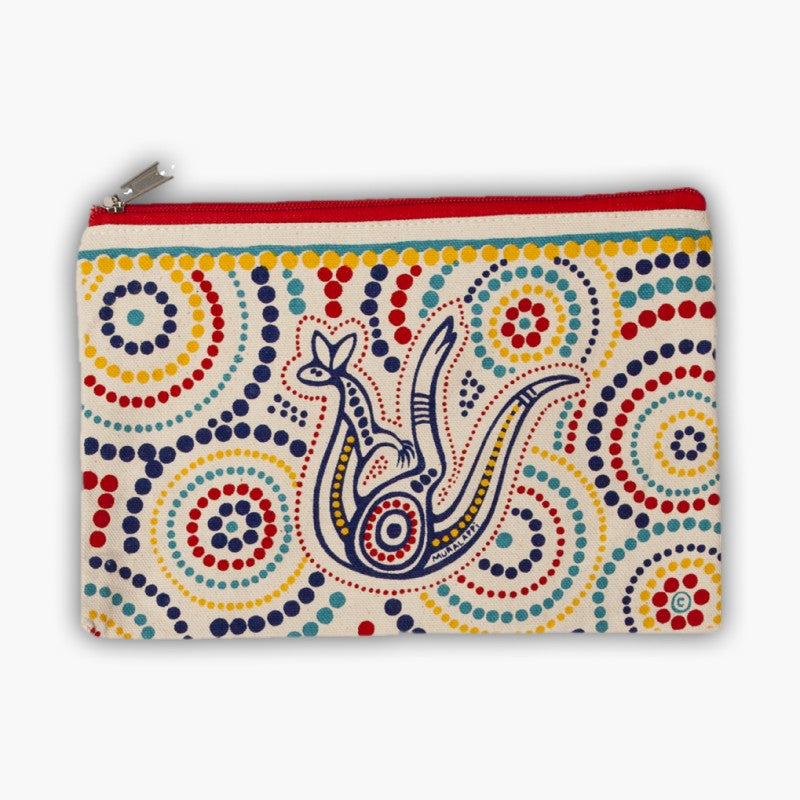 BAG - CANVAS PURSE MURALAPPI SUM FL CVP05.