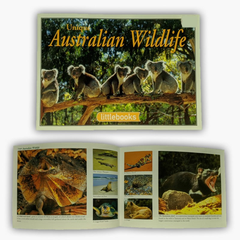 BOOK - UNIQUE AUSTRALIAN WILDLIFE A502.
