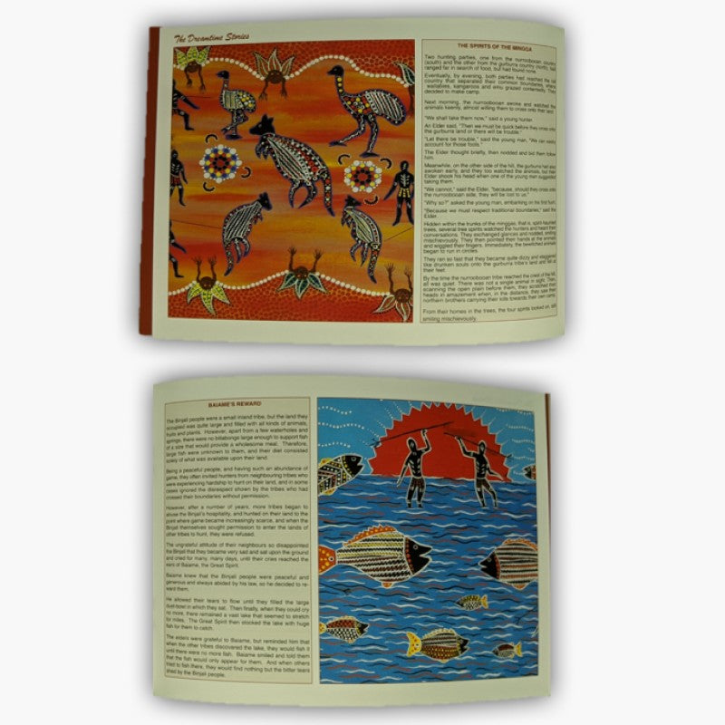 BOOK - THE DREAMTIME STORY A510.