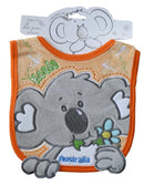 BIB - KIKI KOALA ORANGE 3D VELOUR 600251.