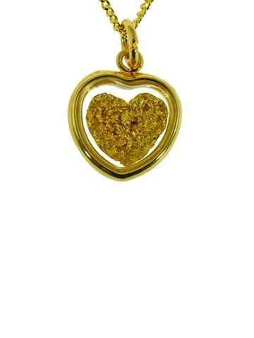 GOLD - PENDANT SMALL HEART GP250131.