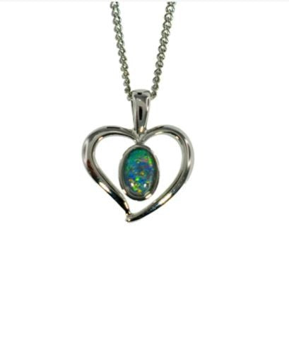 OPAL - TRIPLET PENDANT BOXED ORD2050.