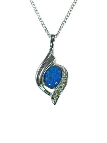 OPAL - TRIPLET PENDANT BOXED ORD2052.