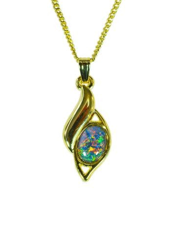 OPAL - TRIPLET PENDANT BOXED ORD2054.