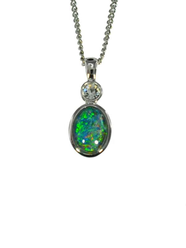 OPAL - TRIPLET PENDANT BOXED ORD2064.