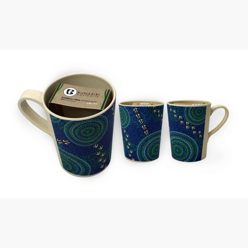 MUG - BAMBOO LUTHER CORA WET BLUE B500A.