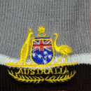 BEANIE - GREY COAT OF ARMS HAT003-COA.