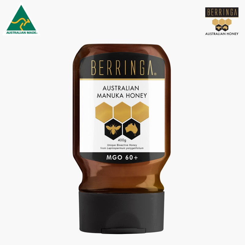 HONEY - BERRINGA EVERYDAY ACTIVE SUPER MANUKA 400G S060