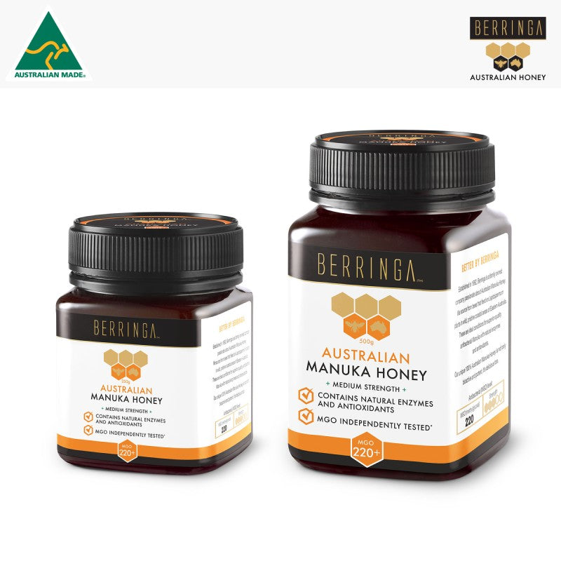 HONEY - MANUKA BERRINGA 220 MGO 250G S063