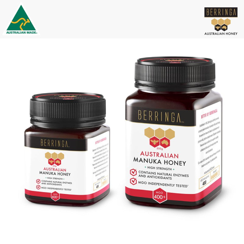 HONEY - MANUKA BERRINGA 400 MGO 250G S065