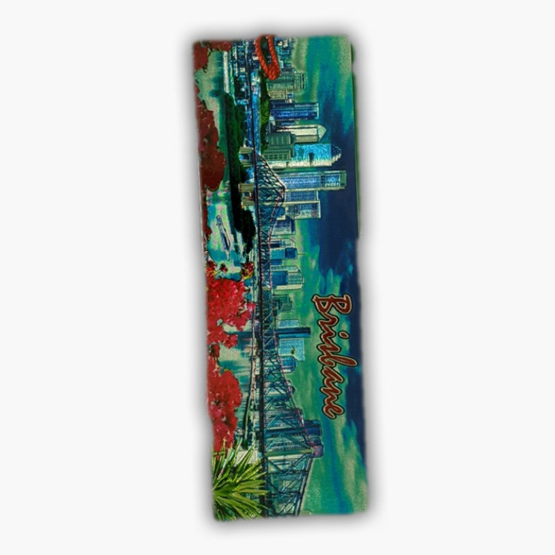BOOKMARK - BRISBANE CITY FOIL FO-BK-BR1.
