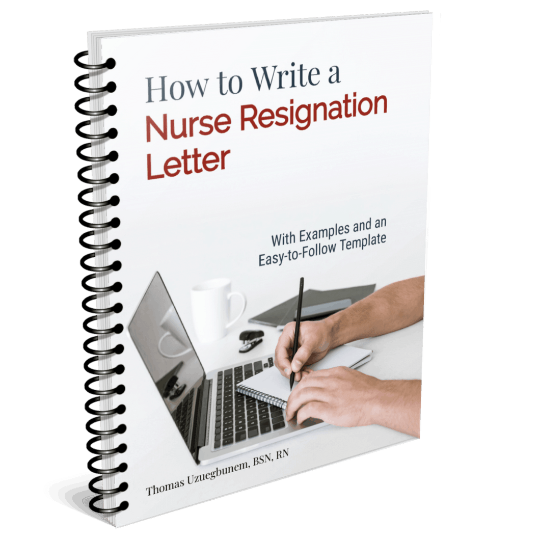 How to Write a Nurse Resignation Letter (Template + Easy to Follow Guide)