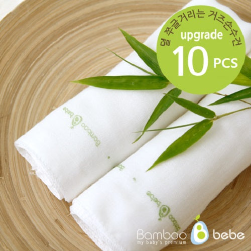 Bamboo Cotton Candy Gauze Handkerchief 10pcs Set - Babyhouse Australia