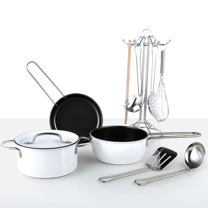 Haper's table Stainless Cookware Set [11pcs] - Babyhouse Australia