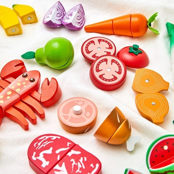 Haper's table Chef Cutting Toy [21pcs] - Babyhouse Australia