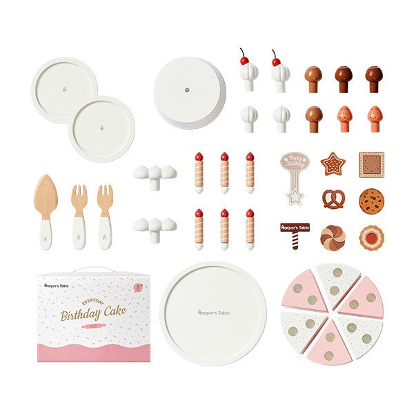 Haper's table  Everyday Birthday Cake Set [40pcs] - Babyhouse Australia
