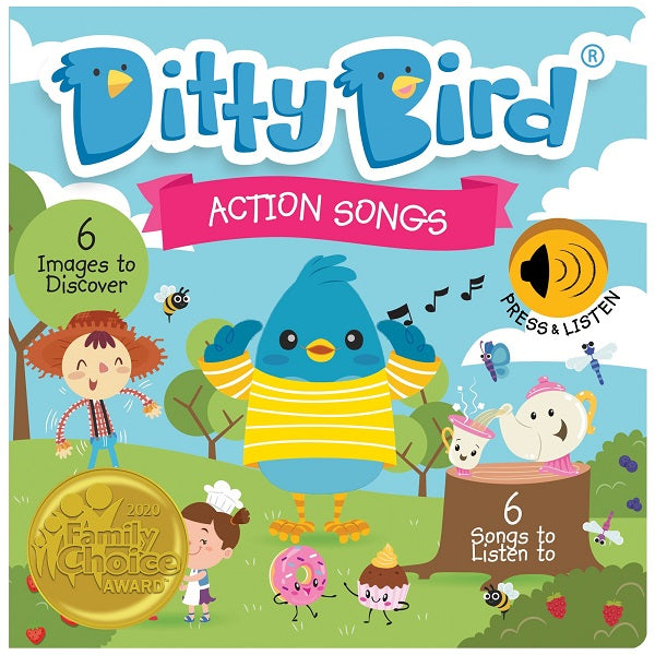 Ditty Bird - ACTION SONGS - Babyhouse Australia