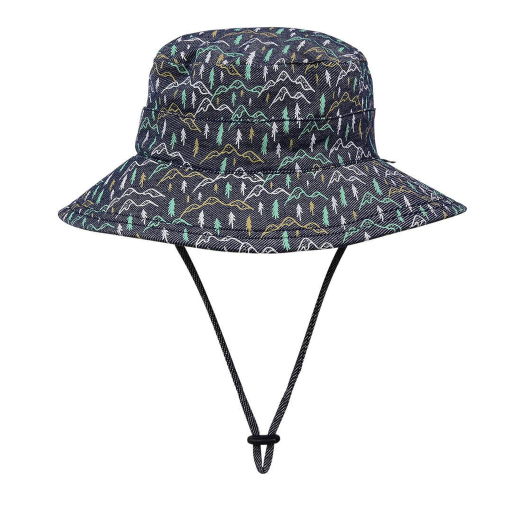 Bedhead Kids Bucket Hat with Strap - Scout - Babyhouse Australia