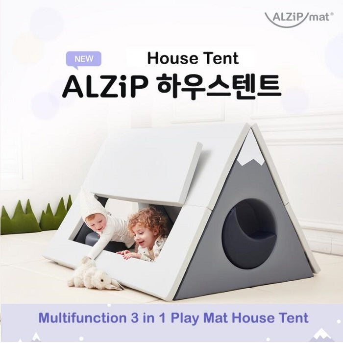 ALZIP MAT HOUSE TENT - TRIANGULAR PILLAR + ROOF - Babyhouse Australia