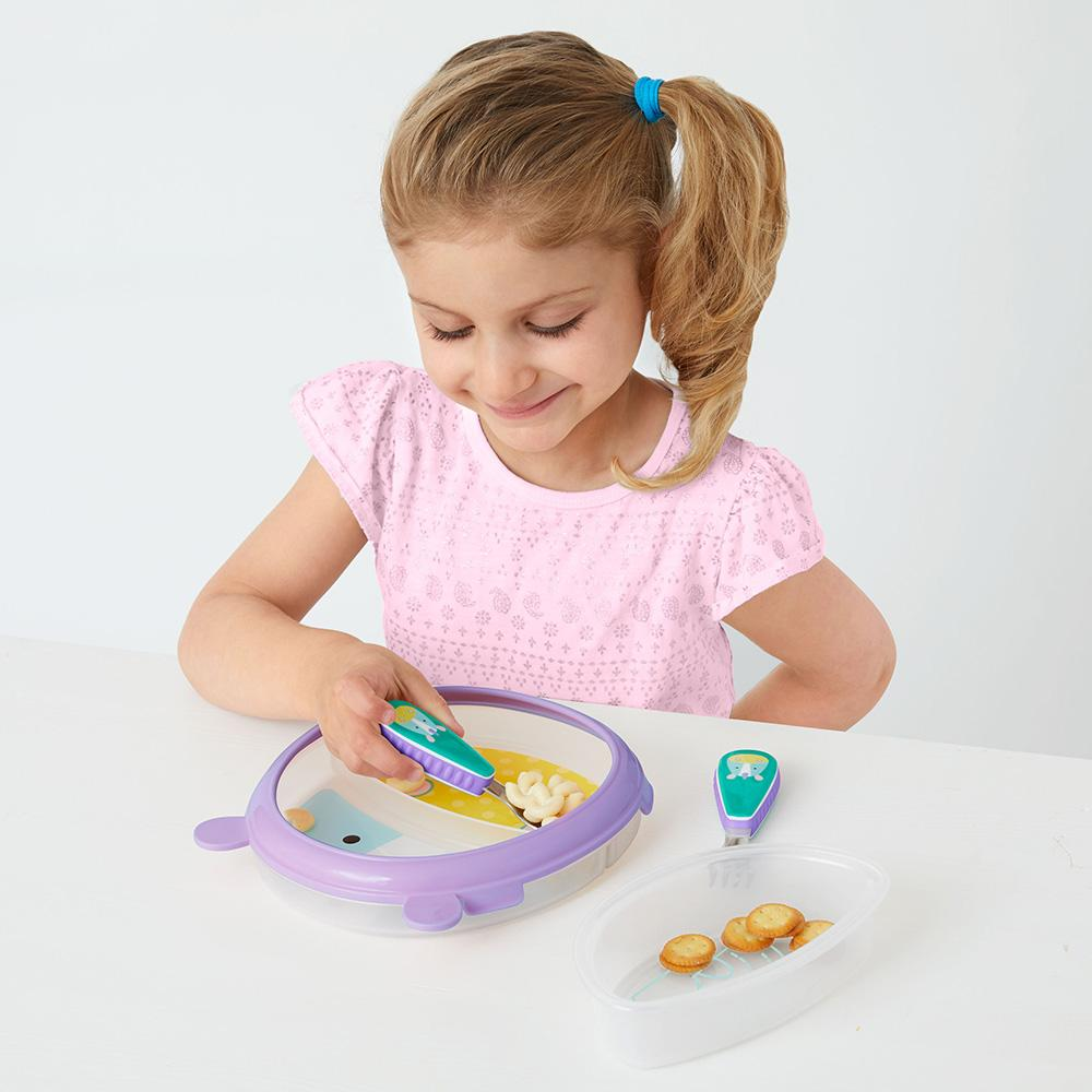 SKIP HOP ZOO SMART SERVE NON-SLIP TRAINING SET - Unicorn - Babyhouse Australia