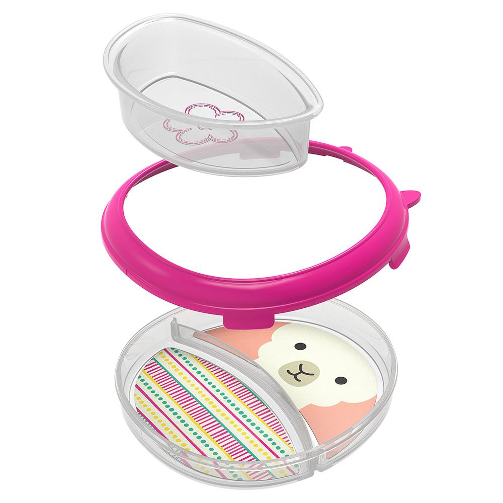 SKIP HOP ZOO SMART SERVE NON-SLIP TRAINING SET - Llama - Babyhouse Australia