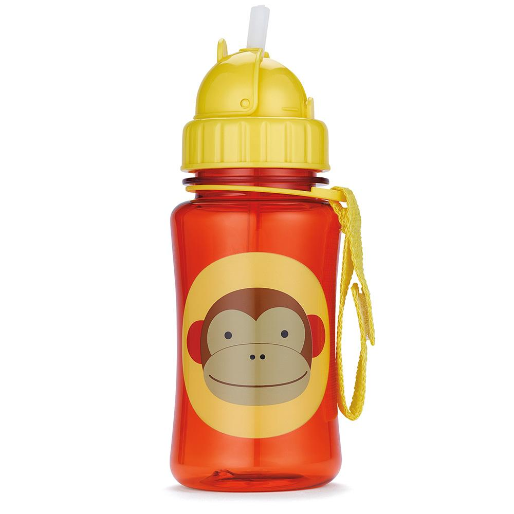 SKIP HOP ZOO MARSHALL MONKEY WATER BOTTLE - Babyhouse Australia