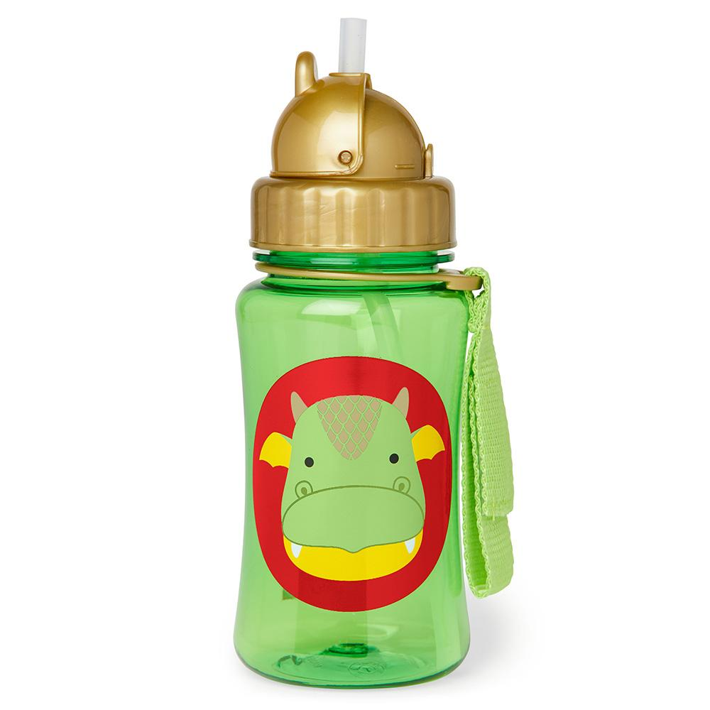 SKIP HOP ZOO DILLON DRAGON WATER BOTTLE - Babyhouse Australia