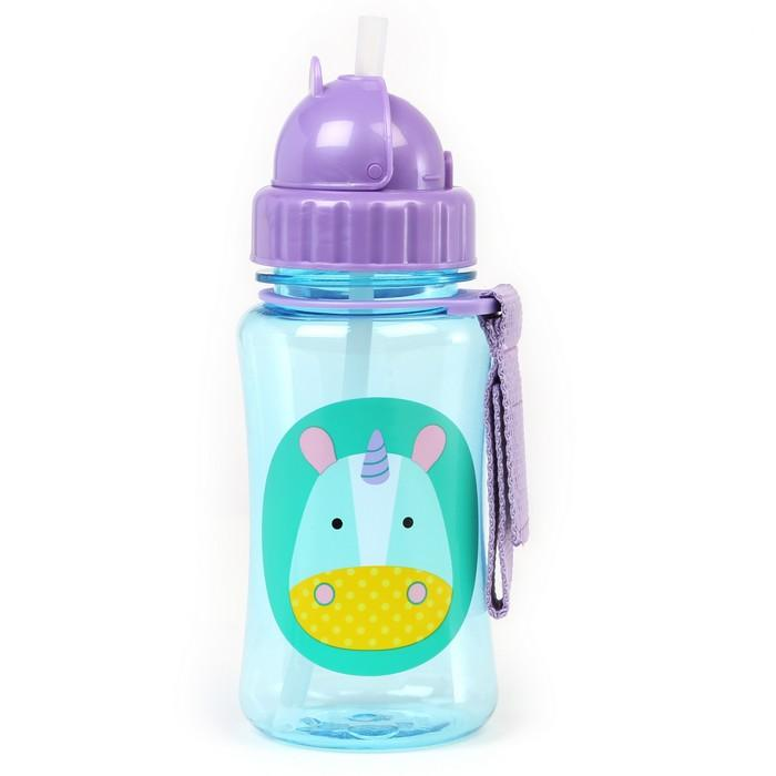 SKIP HOP ZOO EUREKA UNICORN WATER BOTTLE - Babyhouse Australia