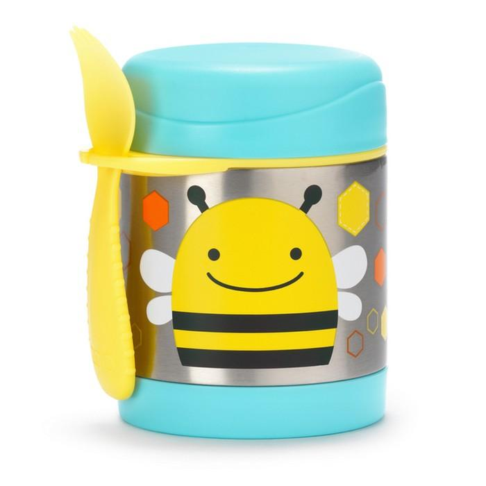 SKIP HOP ZOO BROOKLYN BEE INSULATED FOOD JAR - Babyhouse Australia