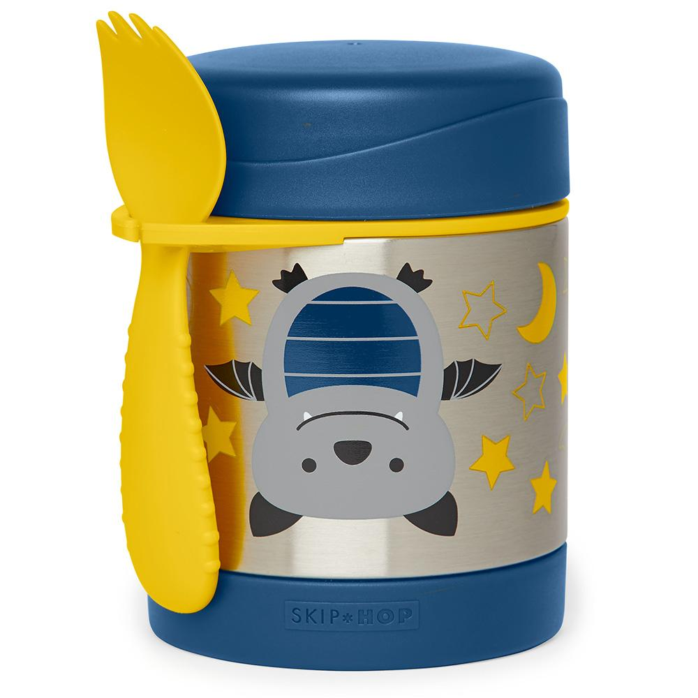 SKIP HOP ZOO BAILEY BAT ZOO INSULATED FOOD JAR - Babyhouse Australia