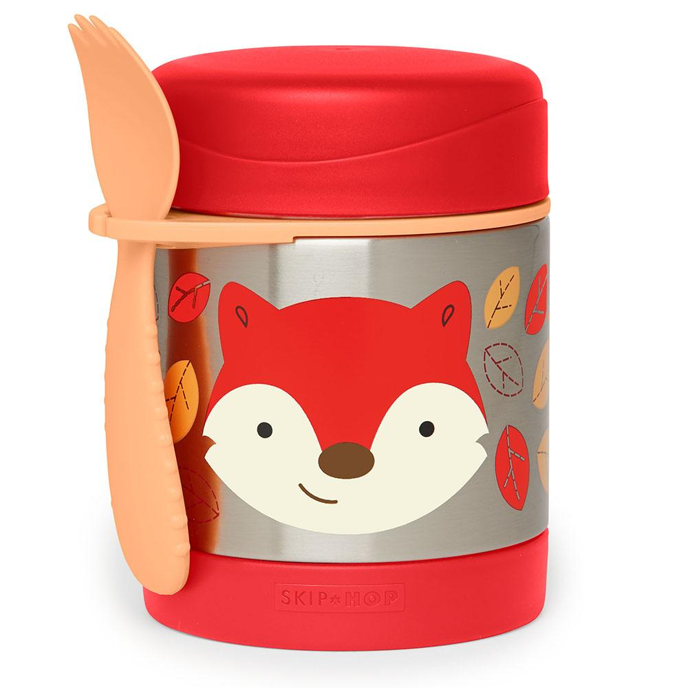 SKIP HOP ZOO FERGUSON FOX INSULATED FOOD JAR - Babyhouse Australia