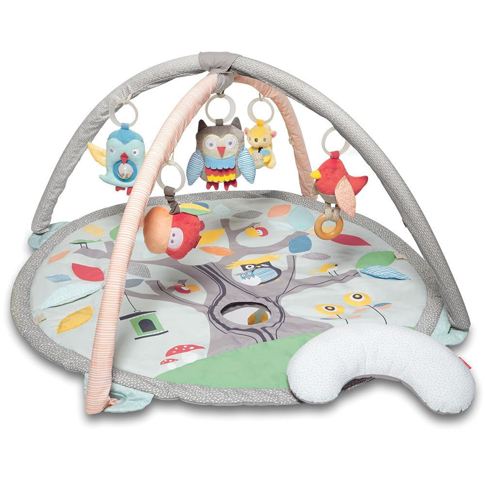 SKIP HOP TREETOP FRIENDS ACTIVITY GYM - GRAY/PASTEL - Babyhouse Australia