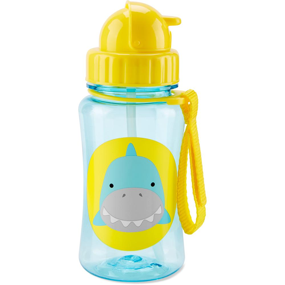 SKIP HOP ZOO SIMON SHARK ZOO WATER BOTTLE - Babyhouse Australia