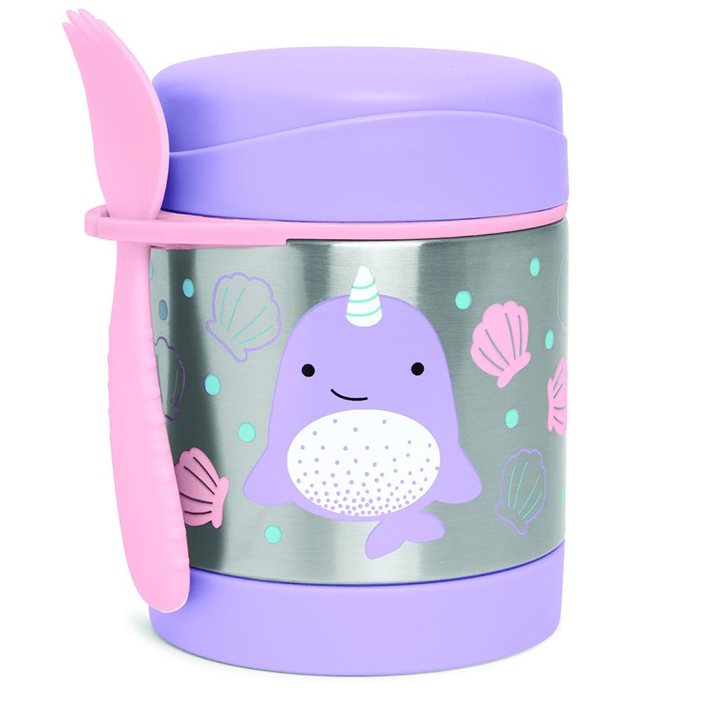 SKIP HOP ZOO NOVA NARWHAL INSULATED FOOD JAR - Babyhouse Australia
