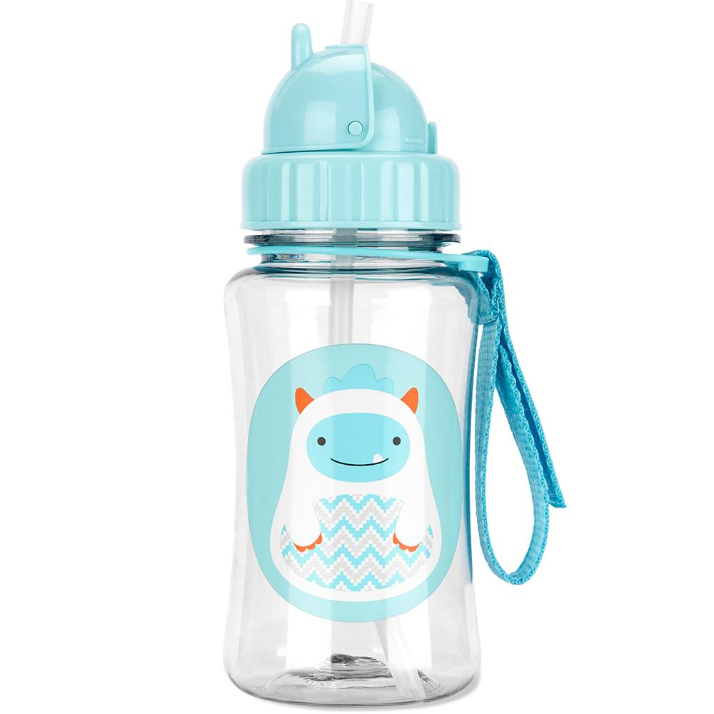 SKIP HOP ZOO WINTER YETI STRAW BOTTLE - Babyhouse Australia