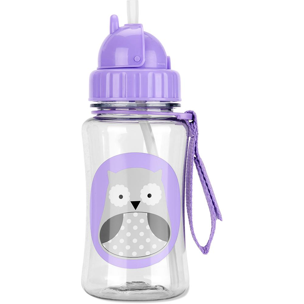 SKIP HOP ZOO WINTER OWL STRAW BOTTLE - Babyhouse Australia