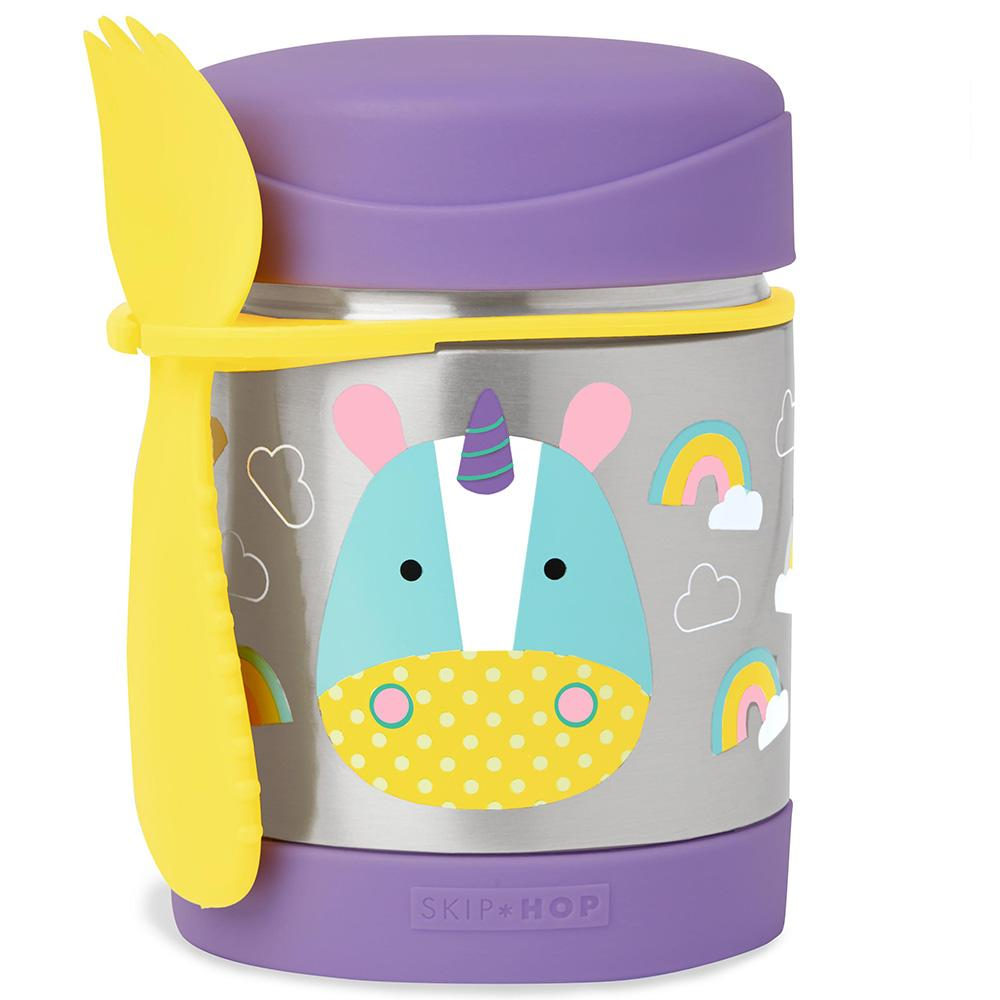 SKIP HOP ZOO EUREKA UNICORN INSULATED FOOD JAR - Babyhouse Australia