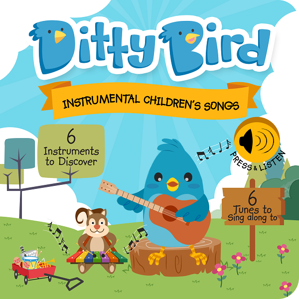 Ditty Bird - INSTRUMENTAL CHILDREN'S SONGS - Babyhouse Australia