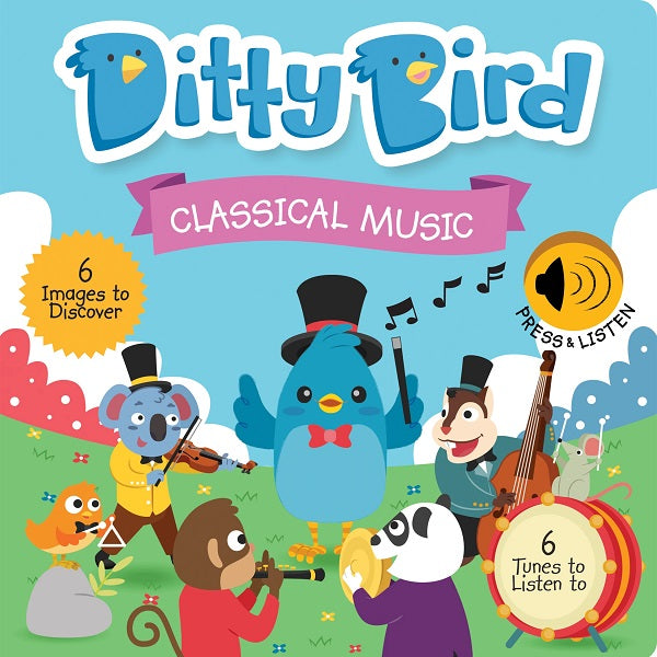 Ditty Bird - CLASSICAL MUSIC - Babyhouse Australia