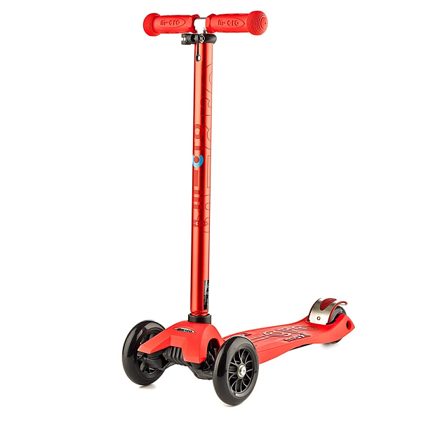 Maxi Micro Deluxe Scooter - Red - Babyhouse Australia